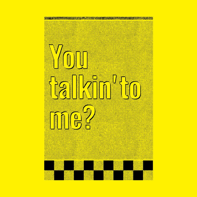 You talkin' to me? Home Rug by quadrin's Artist Shop