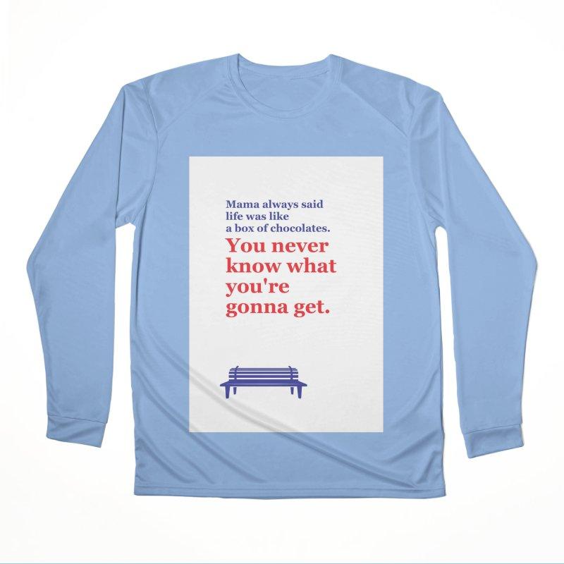 Box of Chocolates Men's Longsleeve T-Shirt by quadrin's Artist Shop