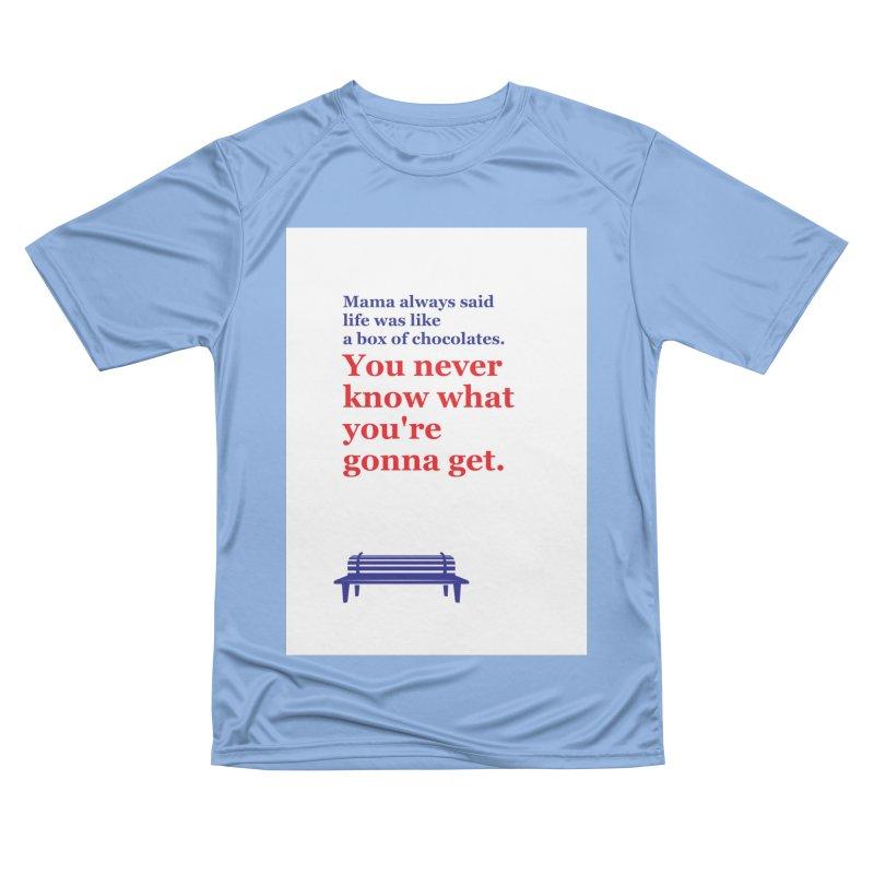 Box of Chocolates Women's T-Shirt by quadrin's Artist Shop