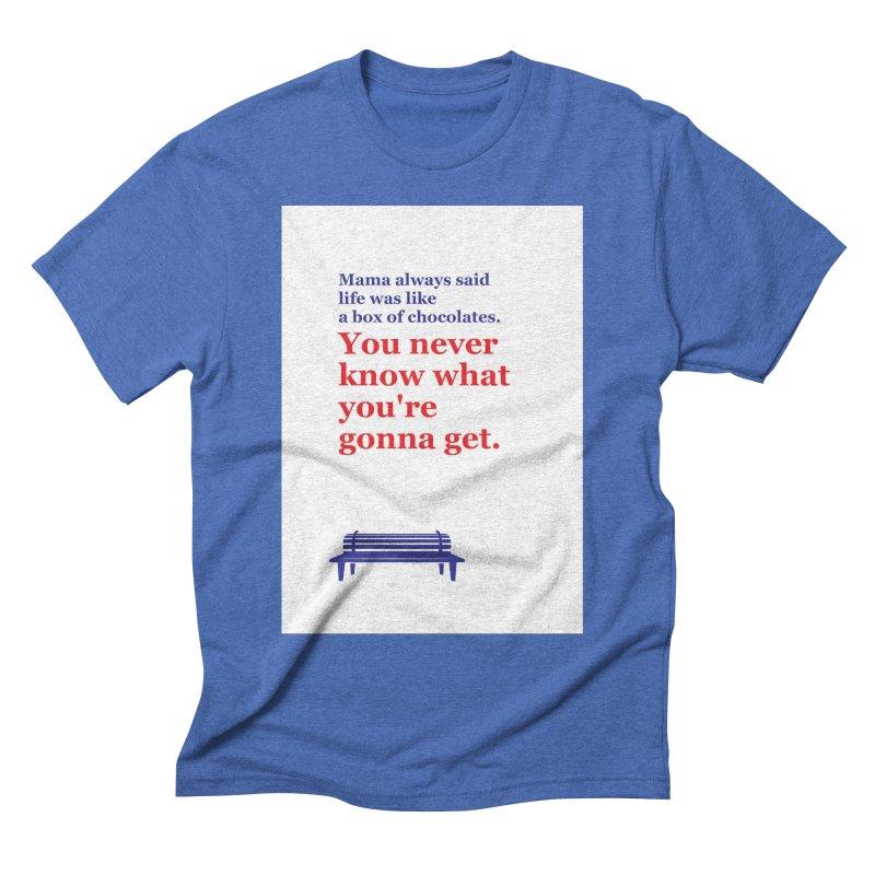 Box of Chocolates Men's T-Shirt by quadrin's Artist Shop