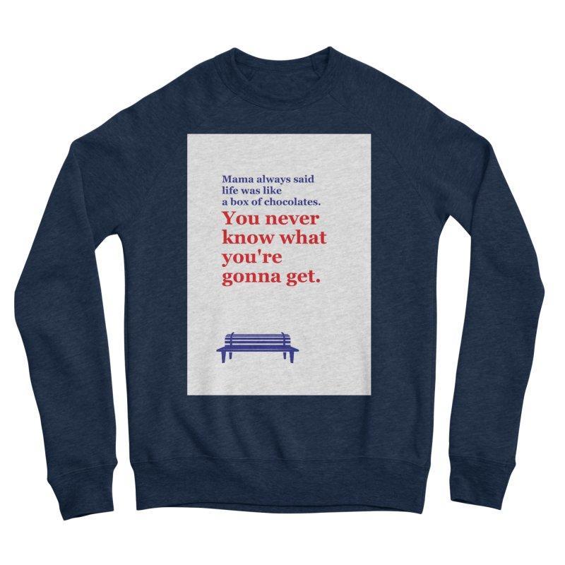 Box of Chocolates Men's Sweatshirt by quadrin's Artist Shop
