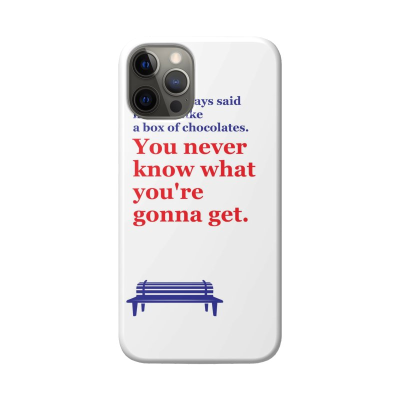 Box of Chocolates Accessories Phone Case by quadrin's Artist Shop