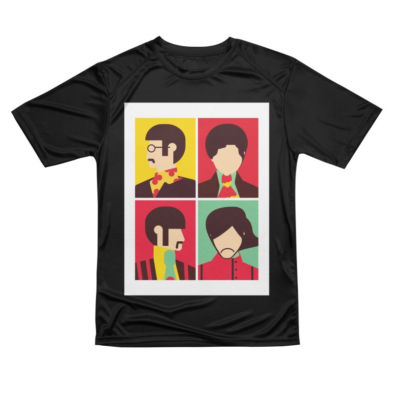 The Fab Four - Minimalist Women's T-Shirt by quadrin's Artist Shop