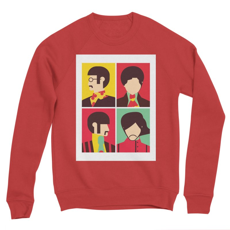 The Fab Four - Minimalist Women's Sweatshirt by quadrin's Artist Shop