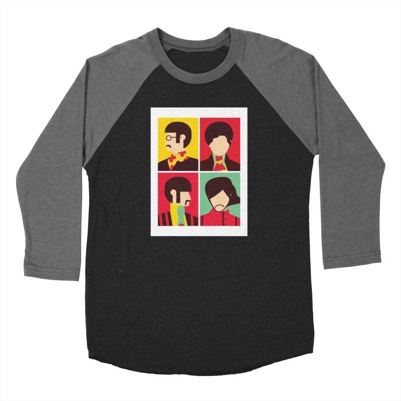 The Fab Four - Minimalist Women's Longsleeve T-Shirt by quadrin's Artist Shop