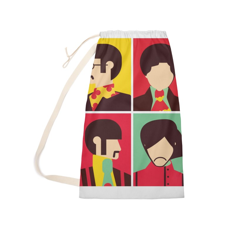 The Fab Four - Minimalist Accessories Bag by quadrin's Artist Shop