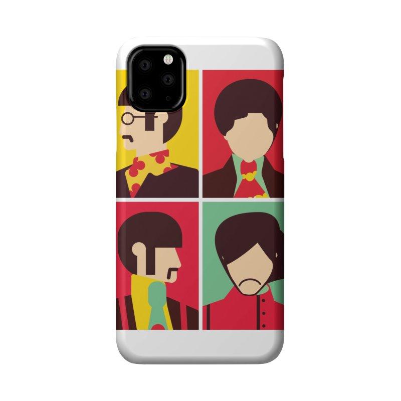 The Fab Four - Minimalist Accessories Phone Case by quadrin's Artist Shop