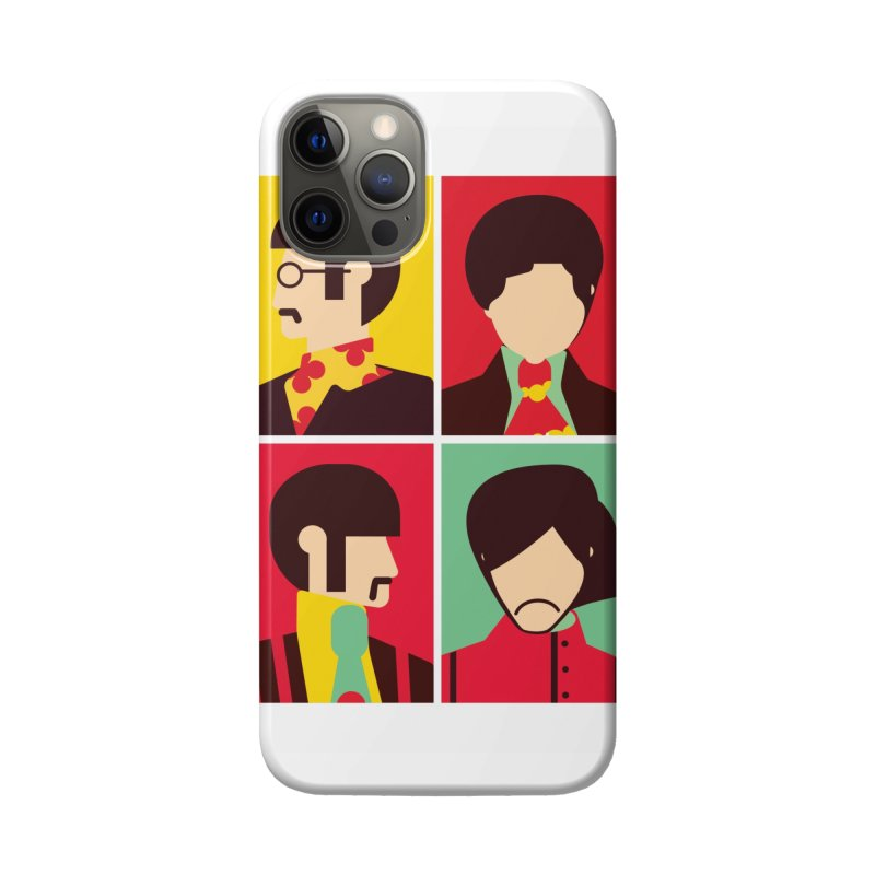 The Fab Four - Minimalist Accessories Phone Case by quadrin's Artist Shop