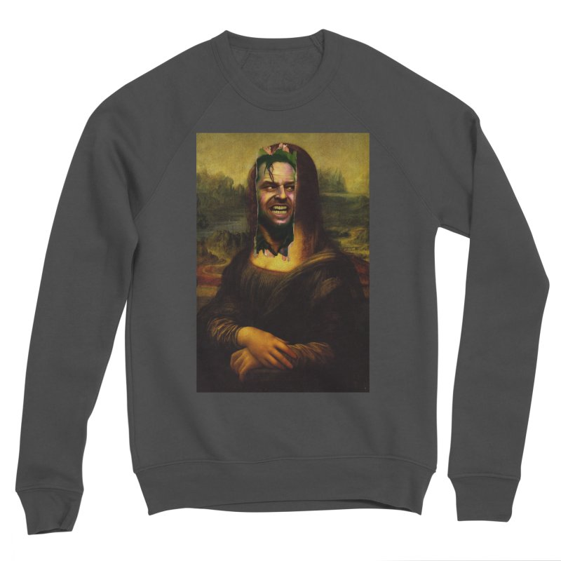 Heres Mona Men's Sweatshirt by quadrin's Artist Shop