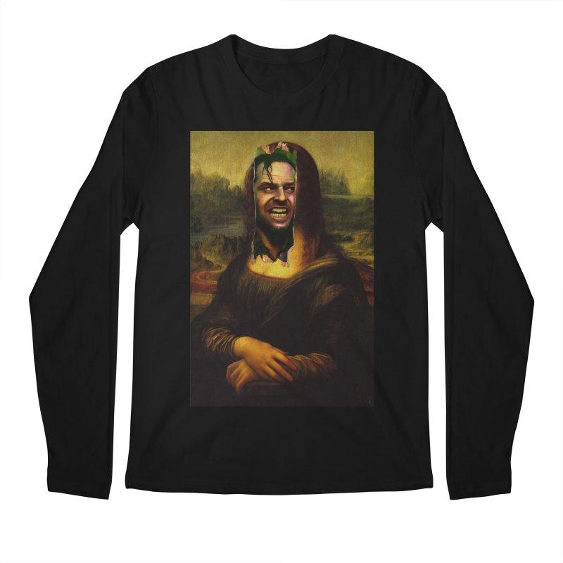 Heres Mona Men's Longsleeve T-Shirt by quadrin's Artist Shop