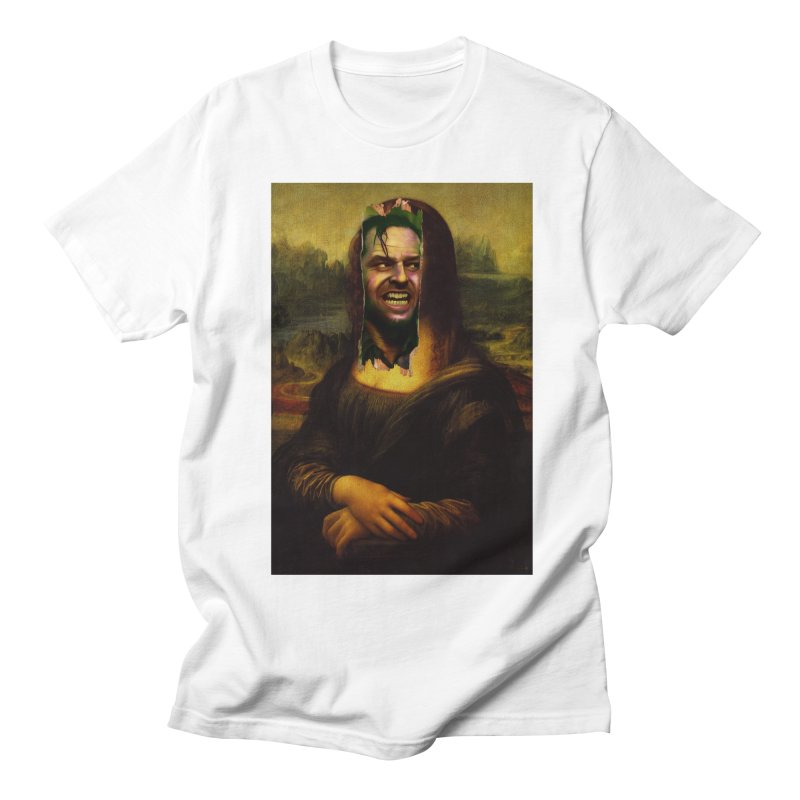 Heres Mona Men's T-Shirt by quadrin's Artist Shop