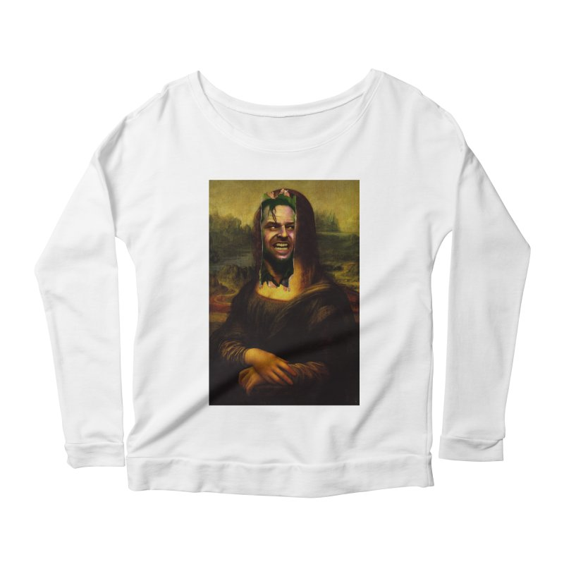 Heres Mona Women's Longsleeve T-Shirt by quadrin's Artist Shop