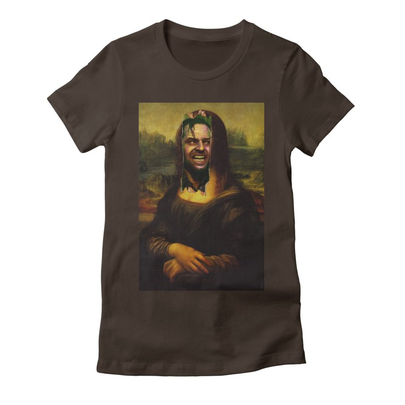 Heres Mona Women's T-Shirt by quadrin's Artist Shop
