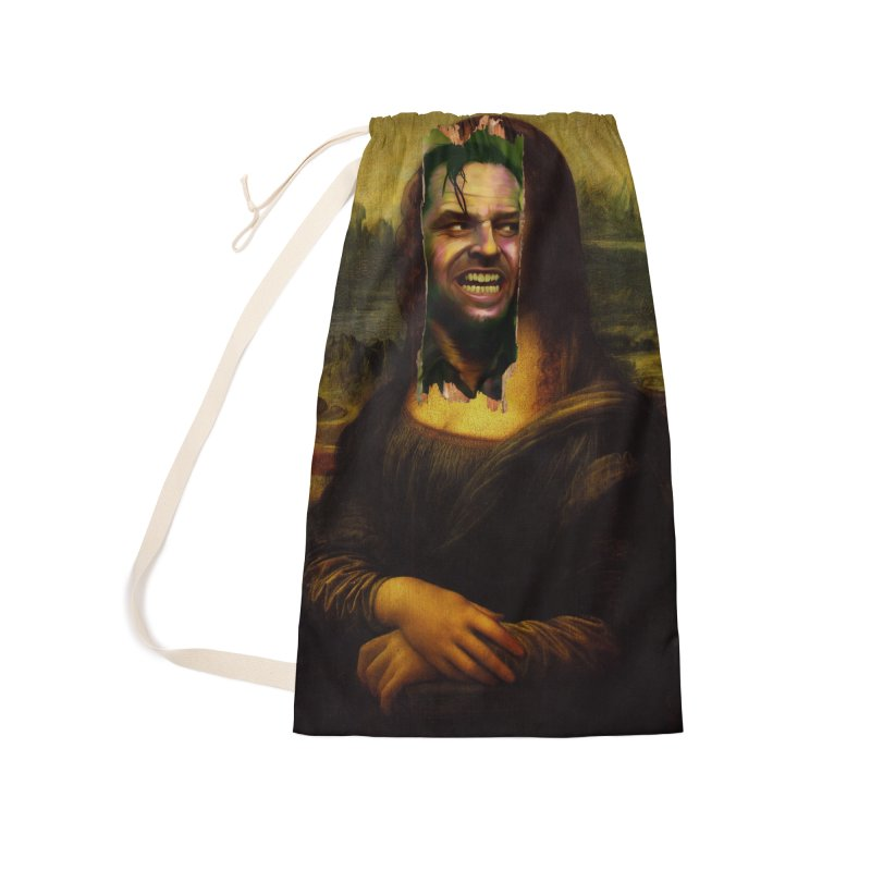 Heres Mona Accessories Bag by quadrin's Artist Shop