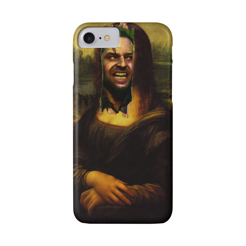 Heres Mona Accessories Phone Case by quadrin's Artist Shop