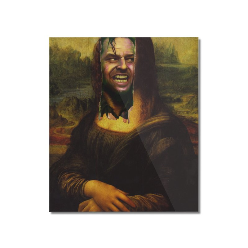 Heres Mona Home Mounted Acrylic Print by quadrin's Artist Shop