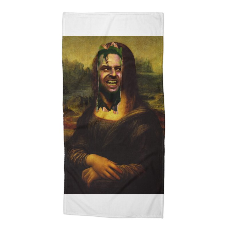 Heres Mona Accessories Beach Towel by quadrin's Artist Shop