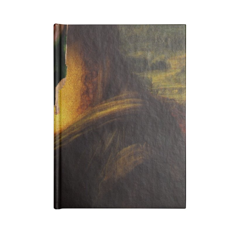 Heres Mona Accessories Notebook by quadrin's Artist Shop