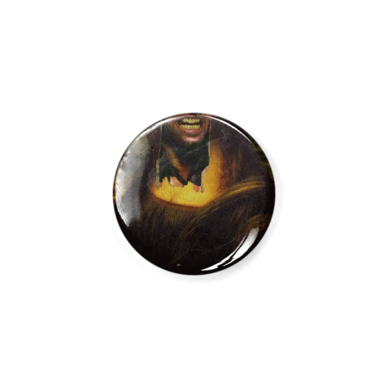 Heres Mona Accessories Button by quadrin's Artist Shop