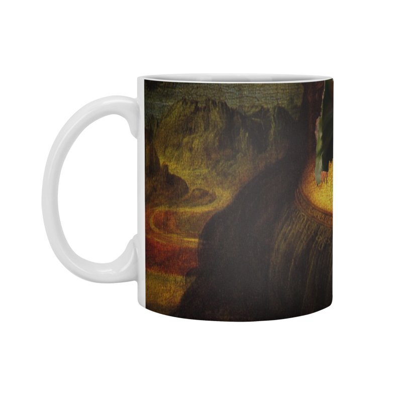 Heres Mona Accessories Mug by quadrin's Artist Shop