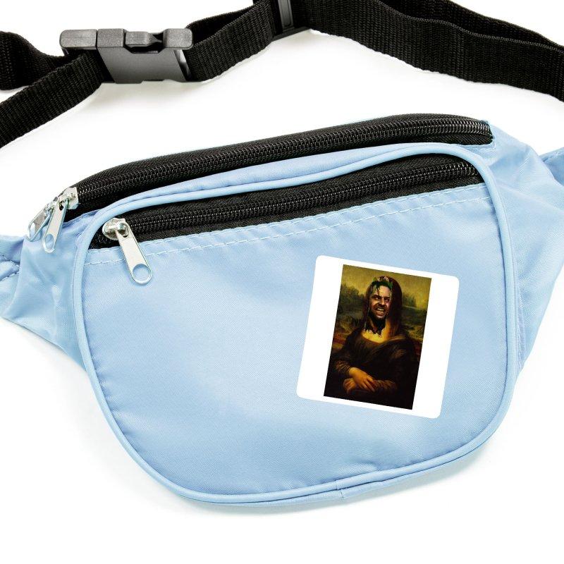 Heres Mona Accessories Sticker by quadrin's Artist Shop