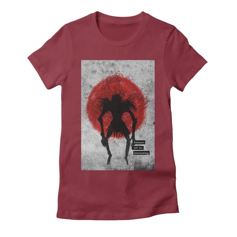 Humans Women's T-Shirt by quadrin's Artist Shop