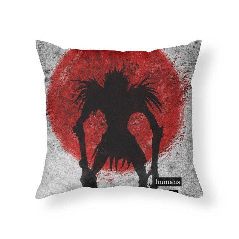 Humans Home Throw Pillow by quadrin's Artist Shop