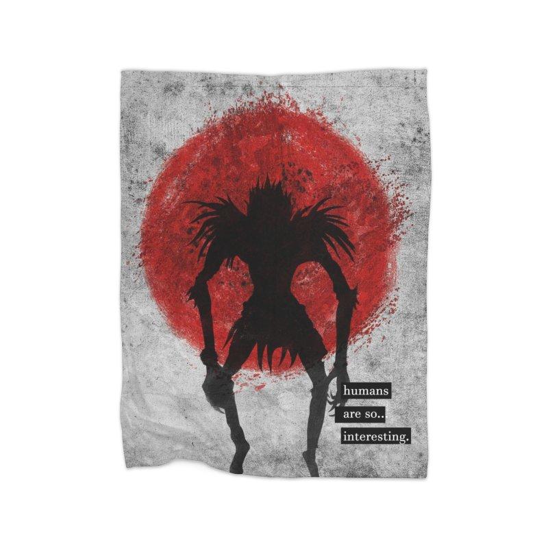 Humans Home Blanket by quadrin's Artist Shop