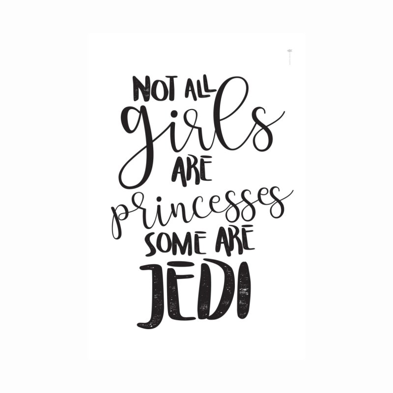 Jedi Girls Women's T-Shirt by quadrin's Artist Shop