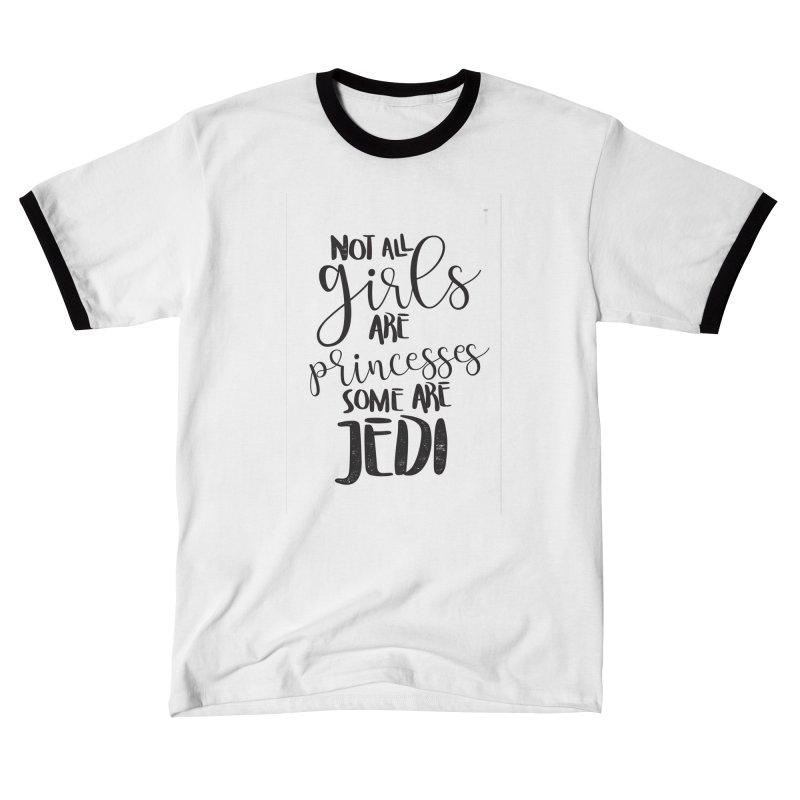 Jedi Girls Men's T-Shirt by quadrin's Artist Shop