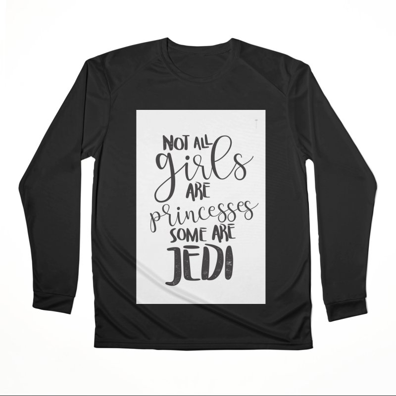 Jedi Girls Women's Longsleeve T-Shirt by quadrin's Artist Shop