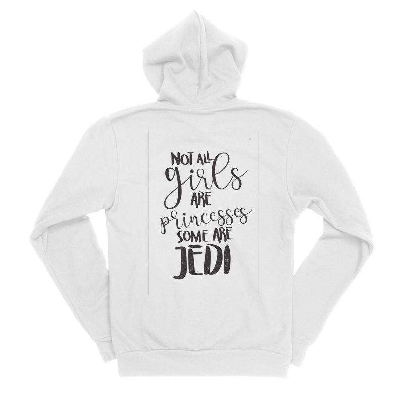 Jedi Girls Women's Zip-Up Hoody by quadrin's Artist Shop