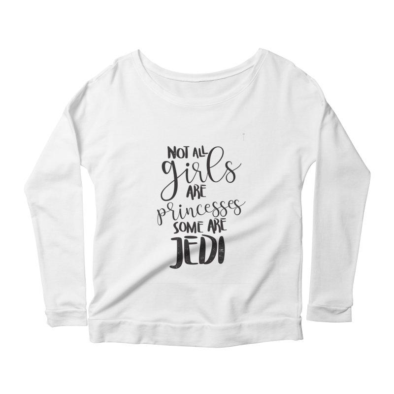 Jedi Girls Women's Longsleeve T-Shirt by quadrin's Artist Shop