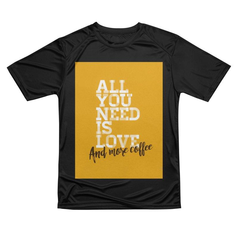 Love & Coffee Women's T-Shirt by quadrin's Artist Shop