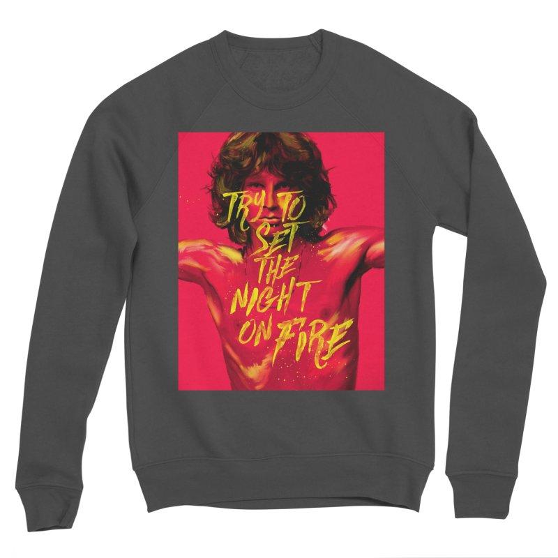 Light my fire Men's Sweatshirt by quadrin's Artist Shop