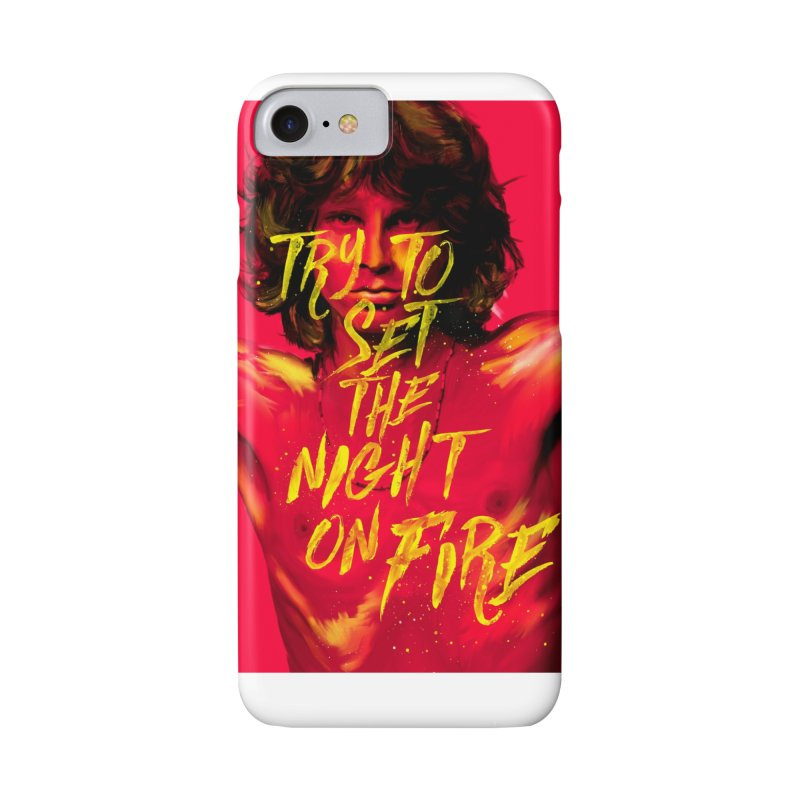 Light my fire Accessories Phone Case by quadrin's Artist Shop