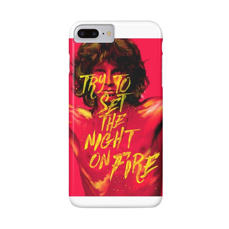 Light my fire Accessories Phone Case by quadrin's Artist Shop