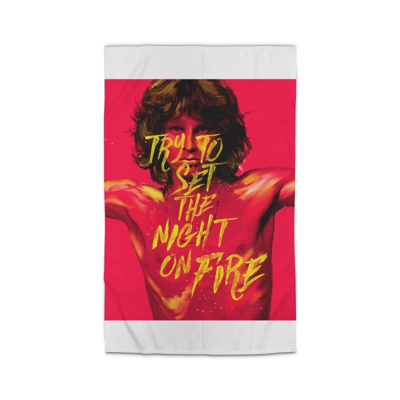 Light my fire Home Rug by quadrin's Artist Shop