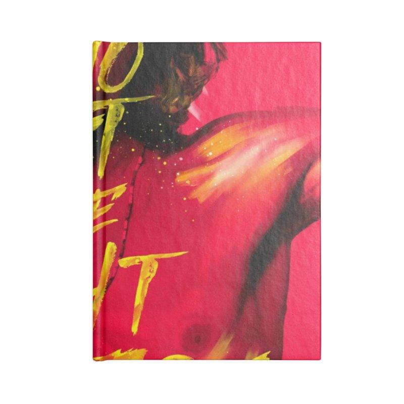 Light my fire Accessories Notebook by quadrin's Artist Shop
