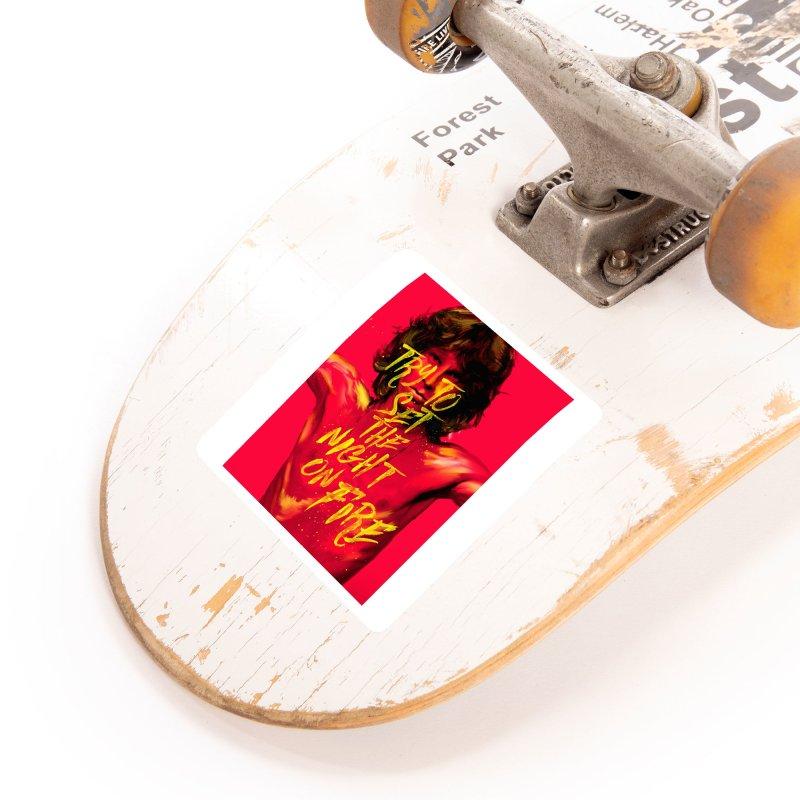 Light my fire Accessories Sticker by quadrin's Artist Shop