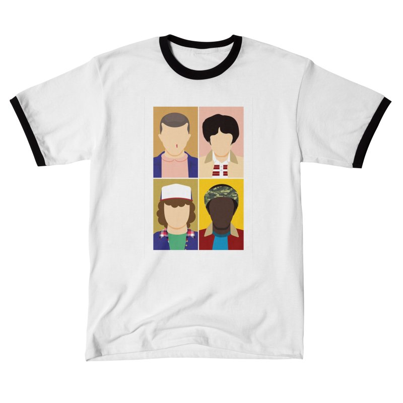 The Stranger Fab Four Women's T-Shirt by quadrin's Artist Shop