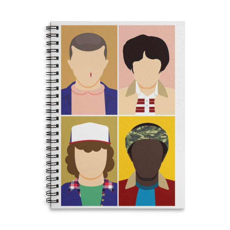 The Stranger Fab Four Accessories Notebook by quadrin's Artist Shop