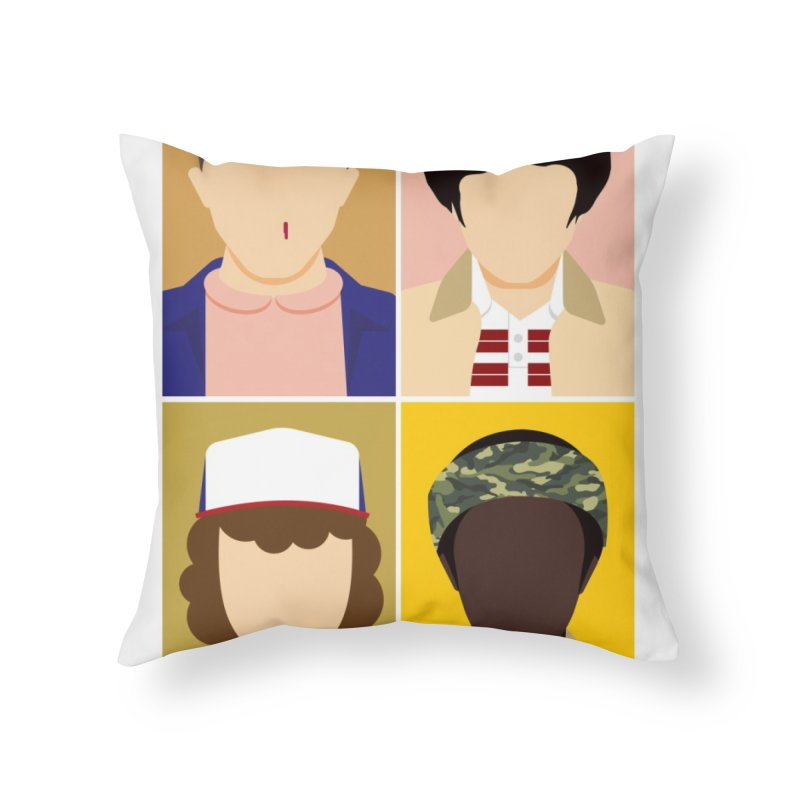 The Stranger Fab Four Home Throw Pillow by quadrin's Artist Shop