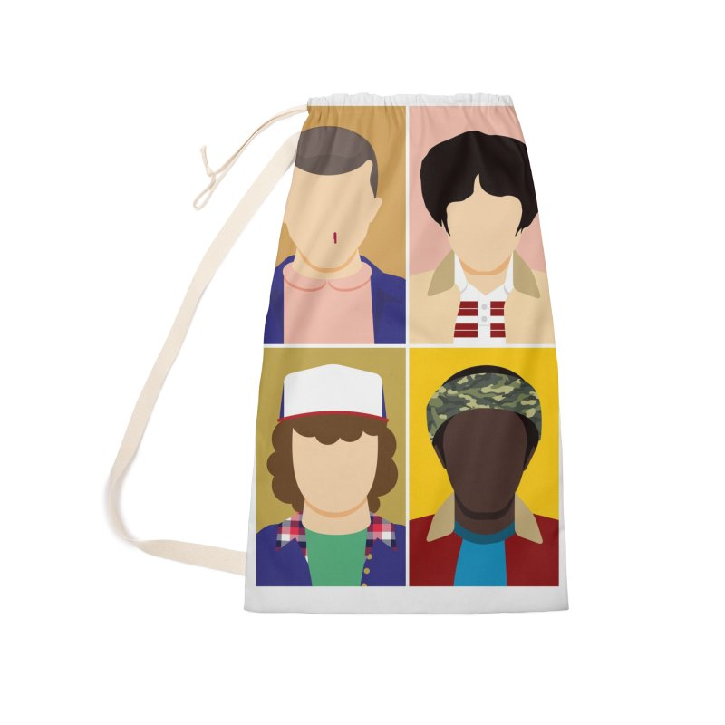 The Stranger Fab Four Accessories Bag by quadrin's Artist Shop