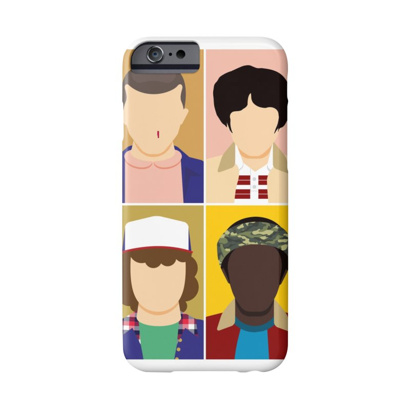The Stranger Fab Four Accessories Phone Case by quadrin's Artist Shop