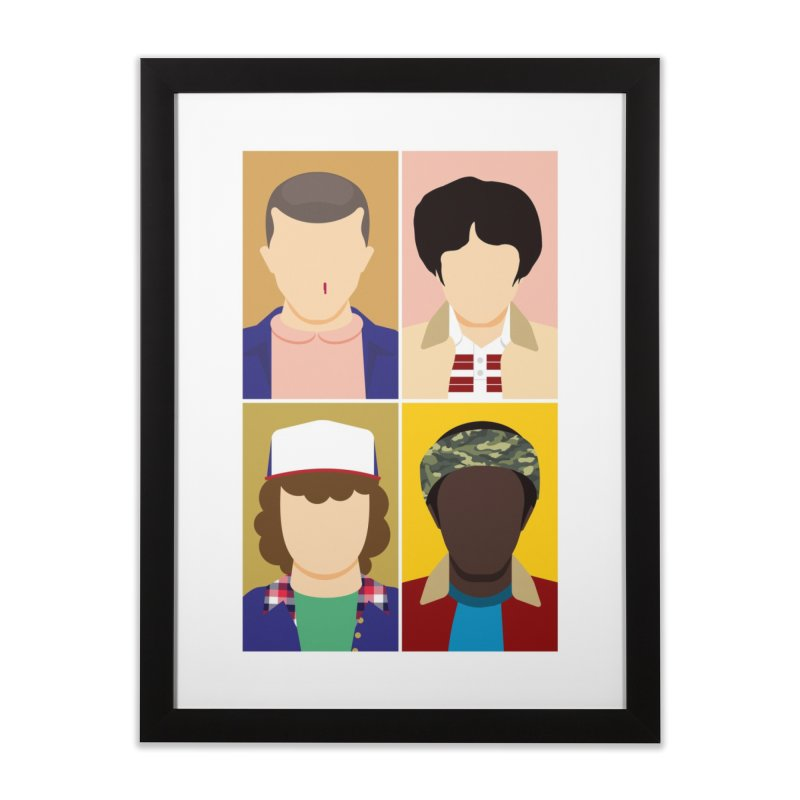 The Stranger Fab Four Home Framed Fine Art Print by quadrin's Artist Shop
