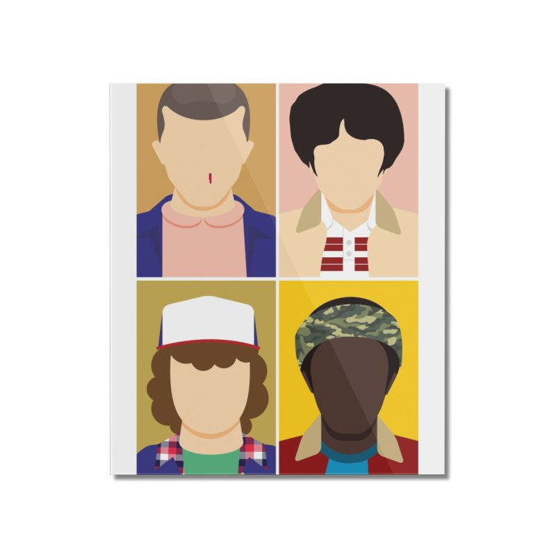 The Stranger Fab Four Home Mounted Acrylic Print by quadrin's Artist Shop
