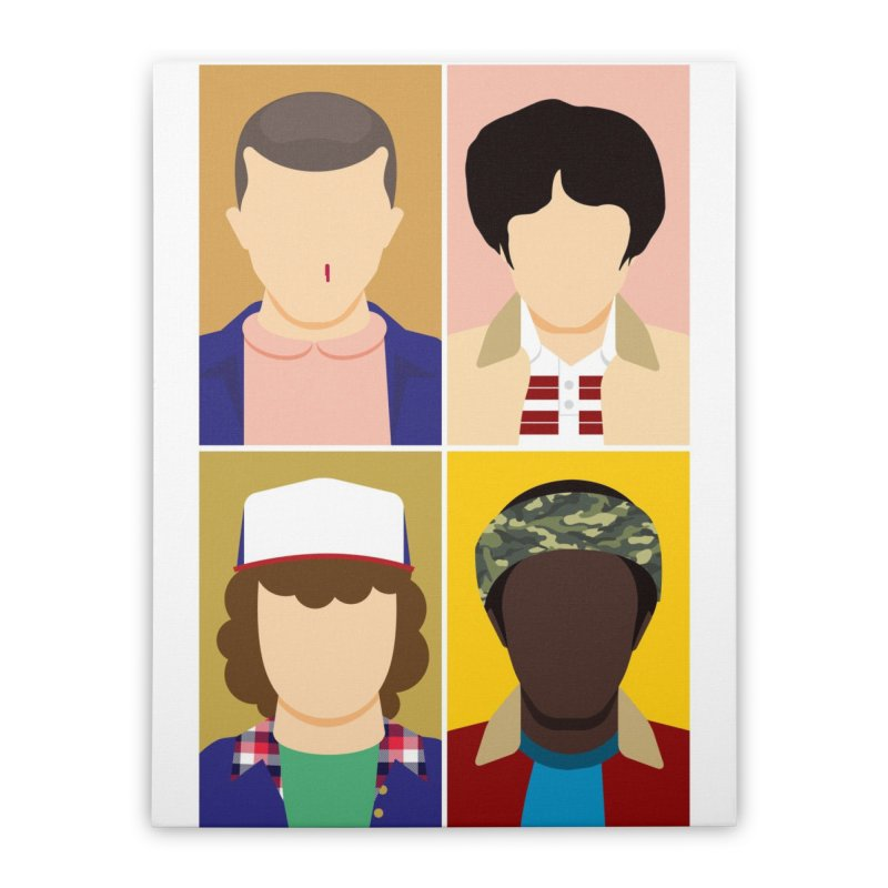 The Stranger Fab Four Home Stretched Canvas by quadrin's Artist Shop
