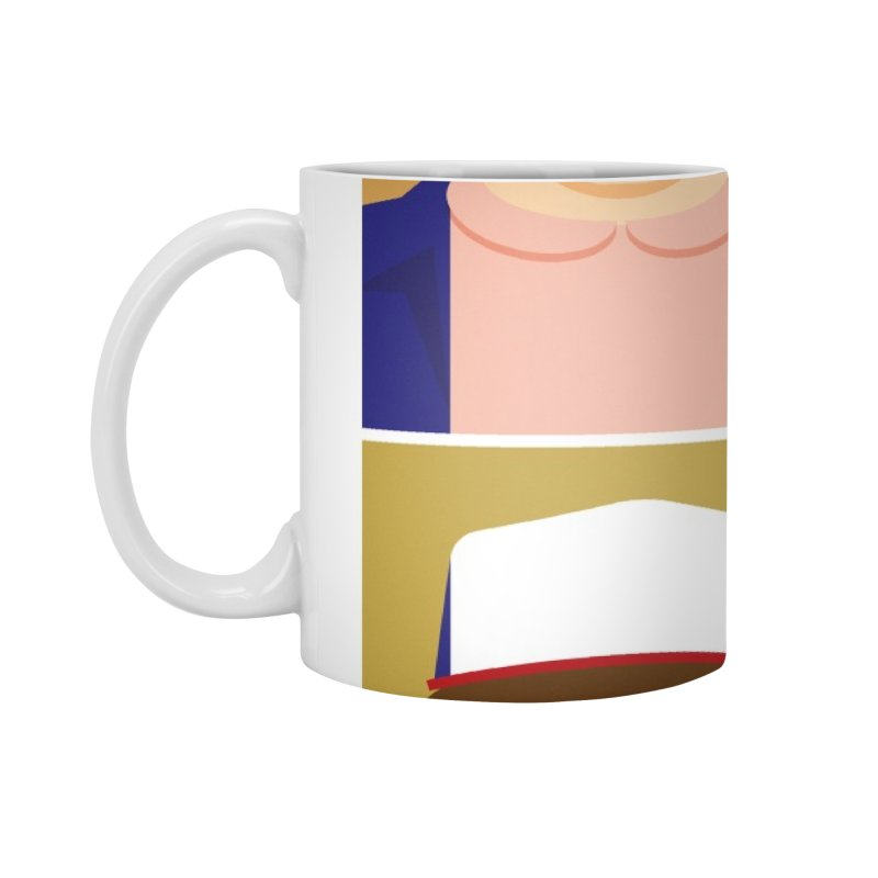 The Stranger Fab Four Accessories Mug by quadrin's Artist Shop