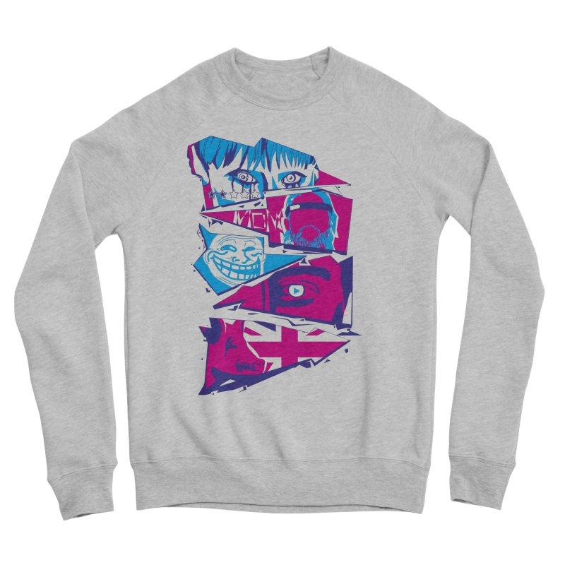Black Mirror Women's Sponge Fleece Sweatshirt by quadrin's Artist Shop
